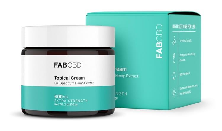 FabCBD Topical CBD Cream