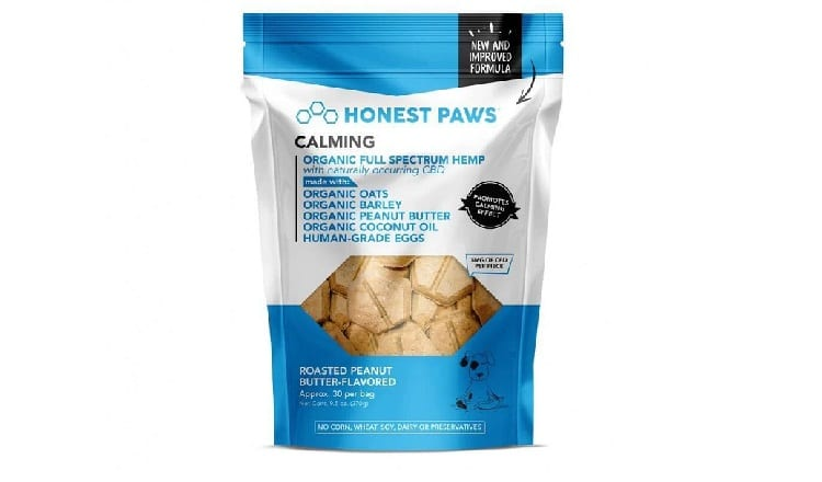 Honest Paws Calming Bites with Roasted Peanut Butter Flavor