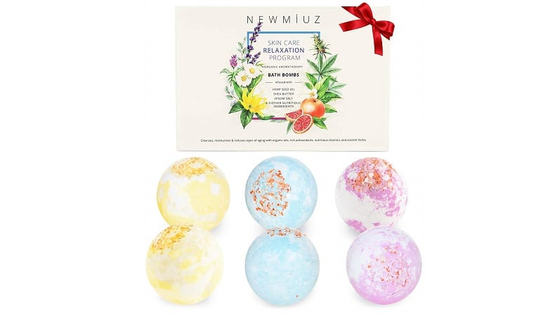 NewMiuz Organic Hemp Bath Bombs