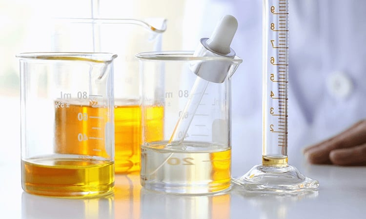 glass jars for chemical process